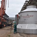 Voskresensk Mineral Fertilizers will replace the drying tower